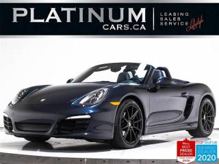 Used 2014 Porsche Boxster MANUAL, BOSE, CONVENIENCE PKG, SPORTS SEATS, PDLS for sale in Toronto, ON