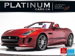 Used 2017 Jaguar F-Type R, 550HP, AWD, NAV, CAM, BLINDSPOT, HEATED SEATS for sale in Toronto, ON