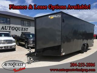 Used 2021 Stealth Cargo Trailer 8.5' x 22' V-Nose for sale in Winnipeg, MB