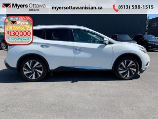 Used 2016 Nissan Murano Platinum  - Sunroof -  Navigation - $144 B/W for sale in Ottawa, ON