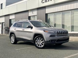 Used 2016 Jeep Cherokee LIMITED 4X4 V6 TOIT PANO for sale in Ste-Marie, QC