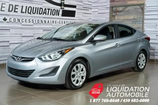 Used 2015 Hyundai Elantra GL gr,élect+a/c for sale in Laval, QC