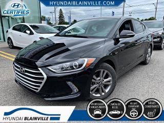 Used 2018 Hyundai Elantra GL, AUTO, VOLANT CHAUFFANTS, ANGLES MORT for sale in Blainville, QC