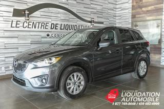 Used 2014 Mazda CX-5 GS+AWD+MAGS+A/C+CAM/REC+TOIT+BLUETOOTH for sale in Laval, QC