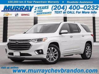 New 2020 Chevrolet Traverse Premier for sale in Brandon, MB