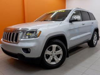 Used 2011 Jeep Grand Cherokee LIMITED CUIR TOIT PANO SIÈGES VENT NAV *BAS KM* for sale in St-Jérôme, QC