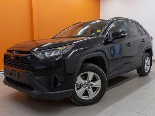 Used 2019 Toyota RAV4 LE AWD SIÈGES CHAUFF REG ADAPT ANGLE MORT *BAS KM* for sale in St-Jérôme, QC