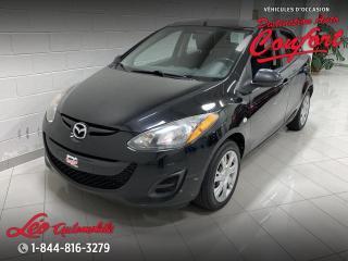 Used 2013 Mazda MAZDA2 GX **NOUVEL ARRIVAGE** for sale in Chicoutimi, QC