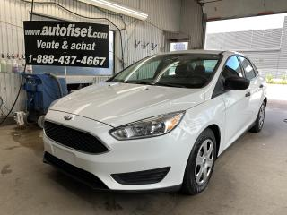 Used 2016 Ford Focus 4dr Sdn S  $35.19  par semaine + taxes for sale in St-Raymond, QC