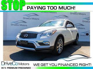 Used 2016 Infiniti QX50 TECH    PKG NAV AWD for sale in Coquitlam, BC