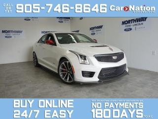 Used 2018 Cadillac ATS -V CHAMPIONSHIP EDITION | ONE OF A KIND | 1 OWNER for sale in Brantford, ON