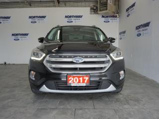 Used 2017 Ford Escape TITANIUM | LEATHER | PANO ROOF | NAV | ONLY 36 KM! for sale in Brantford, ON