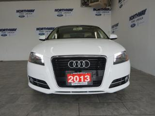 Used 2013 Audi A3 HATCHBACK | DIESEL | LEATHER | SUNROOF | ONLY 38KM for sale in Brantford, ON