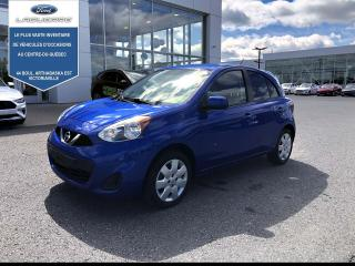 Used 2018 Nissan Micra SV Auto for sale in Victoriaville, QC