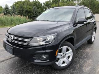 Used 2016 Volkswagen Tiguan COMFORTLINE AWD for sale in Cayuga, ON
