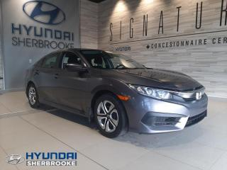 Used 2016 Honda Civic DX CAMERA DE RECUL BLUETOOTH MANUELLE for sale in Sherbrooke, QC