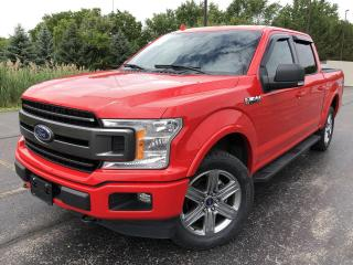 Used 2018 Ford F-150 XLT Sport Crew 4X4 for sale in Cayuga, ON