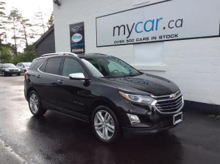 Used 2020 Chevrolet Equinox Premier 2LZ PKG, LEATHER, HEATED SEATS, BLACK BEAUTY!! for sale in Richmond, ON
