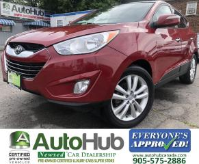 Used 2010 Hyundai Tucson LIMITED-NAV-BACKUP CAMERA-LEATHER-HEATED SEATS for sale in Hamilton, ON