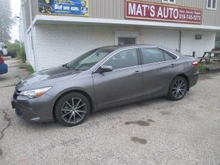 Used 2017 Toyota Camry XSE ONLY 36700KM for sale in Waterloo, ON