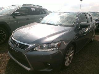 Used 2015 Lexus CT 200h PREM PKG/LEATHER/SUNROOF/CAMERA for sale in Concord, ON