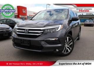 Used 2018 Honda Pilot Touring AWD for sale in Whitby, ON