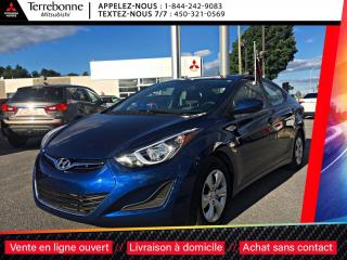 Used 2016 Hyundai Elantra GL AUTOMATIQUE ***BAS KILO*** for sale in Terrebonne, QC
