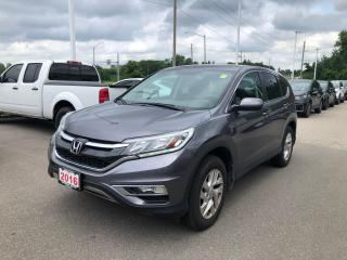 Used 2016 Honda CR-V BLUETOOTH | REARVIEW CAMERA WITH GUIDELINES | ECON MODE for sale in Cambridge, ON