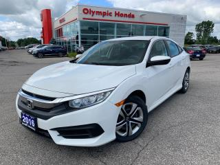 Used 2016 Honda Civic LX Sedan for sale in Guelph, ON