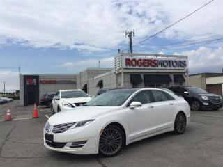 Used 2016 Lincoln MKZ 2.99% Financing - 3.7 AWD - NAVI - PANO ROOF - REVERSE CAM for sale in Oakville, ON