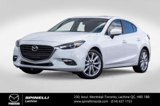 Used 2018 Mazda MAZDA3 GT AUTO SIEGES ET VOLANT CHAUFFANTS TOIT OUVRANT Mazda 3 GT 2018 for sale in Lachine, QC