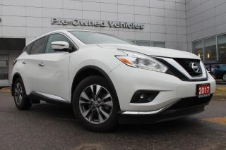 Used 2017 Nissan Murano SL ONE OWNER ACCIDENT FREE TRADE. NISSAN CERTIFIED PREOWNED! for sale in Toronto, ON