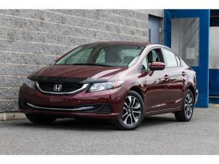 Used 2015 Honda Civic EX AUTO CAMERA DE RCULE TOIT OUVRANT for sale in Brossard, QC