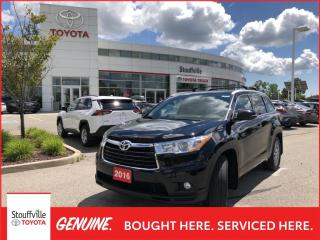 Used 2016 Toyota Highlander XLE - SMART KEY SYSTEM - PREMIUM NAVIGATION for sale in Stouffville, ON
