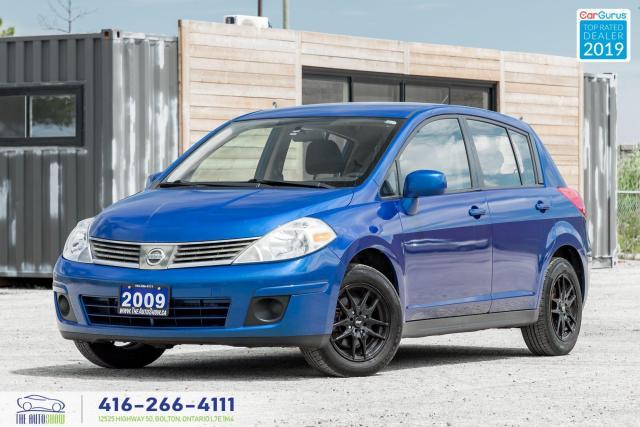 2009 Nissan Versa 1.8 S|Manual|A/c|Clean Carfax