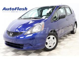 Used 2013 Honda Fit DX-A *AUTO  *BAS-KM/LOW MILEAGE for sale in St-Hubert, QC