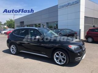 Used 2014 BMW X1 X-DRIVE *28I *AWD *TOIT-PANO-ROOF *BLUETOOTH *A/C for sale in St-Hubert, QC