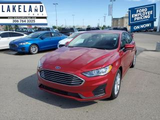 New 2020 Ford Fusion SE FWD  - Navigation - $182 B/W for sale in Prince Albert, SK
