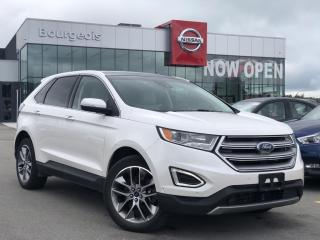 Used 2016 Ford Edge Titanium LEATHER, HEATED SEATS for sale in Midland, ON