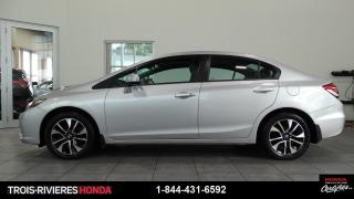 Used 2015 Honda Civic EX + MAGS + TOIT + DEMARREUR! for sale in Trois-Rivières, QC