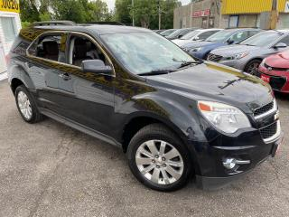 Used 2010 Chevrolet Equinox 2LT/ LEATHER/ CAM/ ALLOYS/ PWR GROUP/ TINTED! for sale in Scarborough, ON