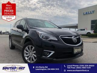 Used 2019 Buick Envision Essence AWD|Leather|HTD seats|Sunroof|Remote start for sale in Leamington, ON