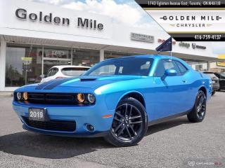 Used 2019 Dodge Challenger SXT Ex-rental, Clean Carfax, All Wheel Drive, Super Low Km's for sale in North York, ON