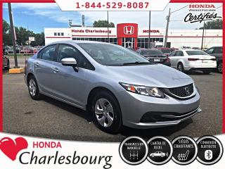 Used 2015 Honda Civic LX **UN PROPRIÉTAIRE**44 648 KM** for sale in Charlesbourg, QC