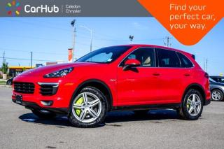 Used 2016 Porsche Cayenne S E-Hybrid AWD Navigation Panoramic Sunroof Backup Camera Bluetooth Heated front Seats 19