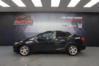 Used 2012 Honda Civic CIVIC LX 2012 FULL EQUIPE AUTO 123 860KM for sale in Lévis, QC