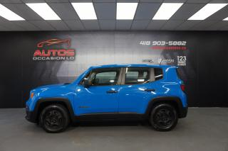 Used 2015 Jeep Renegade RENEGADE SPORT 2X4 2015  SPORT 126 882KM for sale in Lévis, QC