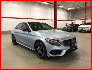 Used 2017 Mercedes-Benz C-Class C43 AMG 4MATIC HEAD-UP DISPLAY DISTRONIC PREMIUM for sale in Vaughan, ON