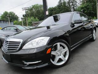 Used 2011 Mercedes-Benz S-Class S550 4MATIC|AMG PKG|NAVIGATION|PANORAMA ROOF| for sale in Burlington, ON