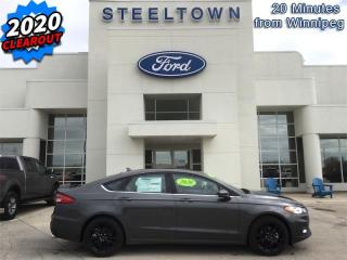 New 2020 Ford Fusion SE FWD  - Sunroof - Heated Seats for sale in Selkirk, MB